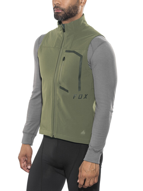 Fox Attack Fire Bike Vest Men green